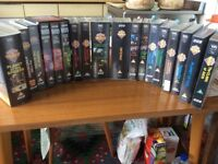 Joblot of Doctor Who VHS Videos