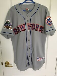 Rawlings AUTHENTIC MLB New York Mets 2002 Jersey Size 40