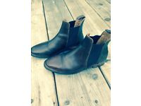 Jack Wills leather boots size 5