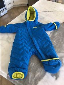Northface infant snowsuit