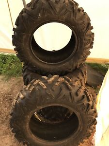4 Big horn 2.0 radial atv tires