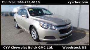 2015 Chevrolet Malibu LT - $9/Day - 7 Colour Touch Screen