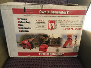 IPI Industries Breeze Extended Run Generator System