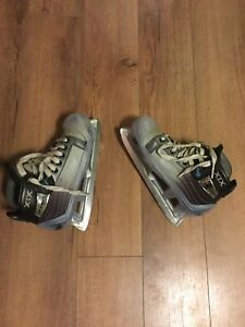 Skates for goalie