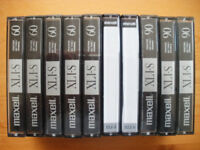 Blank Audio Cassettes: Chrome & High Spec Type 1