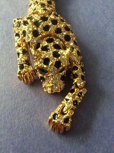 Leopard Shoulder Brooch