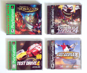PlayStation PS1 - Role-playing, driving, & skateboarding games!