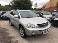 LEXUS RX400 H SE-L CVT ESTATE 3311cc, 5Drs, *LEXUS HISTORY,LEATHER INTERIOR,DVD SCREENS IN HEADREST*