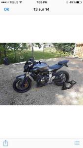 Moto Sport touring Yamaha FZ-07