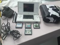Nintendo DS Lite - white good condition - used