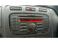 Ford Mondeo MK4 6000CD Bluetooth Radio with Code