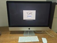 "Apple iMac 27"" Late-2015 5k Retina 6 Months Apple Warranty Immaculate MK462B/A"