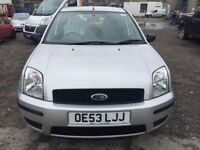 2003 Ford Fusion, starts and drives well, MOT 10th October, 80,000 miles, clean inside and out, car
