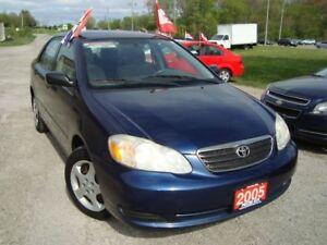 2005 Toyota Corolla CE Only 98km Power Windows