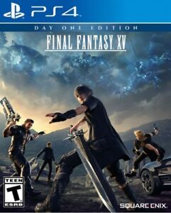 Final Fantasy XV on PS4 - Barely Used