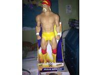 """Hulk Hogan brand new in box stands 31"""" tall"""
