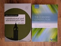Constitutional Law Books £10 for both