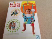 Bright Stars bounce n spring deluxe door jumper - never used
