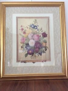 NEW PRICE - Large, P. J Redoute Flower Print