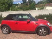 2011 Mini One Convertible, Manual, Petrol, DAB, Bluetooth Phone Connectivity, Great Condition