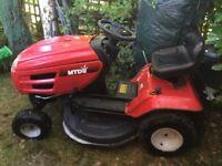 MTD Ride on Lawnmower Lawn Mower