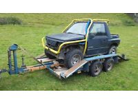 suzuki vitara+trailer for sale great little truck.