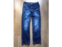 Men's Button-fly denim jeans w30 l32