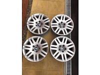 BMW 18 Inch Style 93 Alloy Wheels OEM 5x120