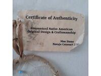 Authentic Native American Dream Catcher - Brand New