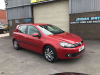 2009 VOLKSWAGEN GOLF 1.6 TDI SE 105 BHP,ONLY 48000 MILES WITH FULL SERV HISTORY