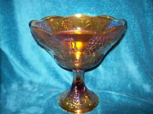 Carnival Indiana Glass Wedding Bowl