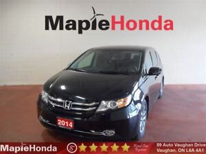 2014 Honda Odyssey Touring  Loaded, Leather, Navi, DVD!