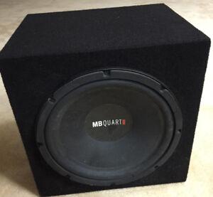 "Mb Quart DWE304 12"" Sub WITH Box"