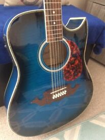 Guitar electro acoustic 12 string