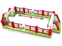 Subbuteo inflatable football pitch