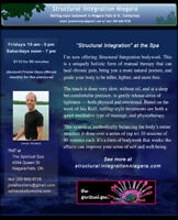 Structural Integration Rolfing therapy now available in Niagara