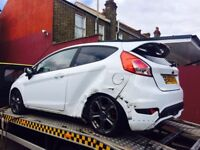 2013 Ford Fiesta ST 180 Turbo Salvage Damaged Repairable ST-2 ST-3 focus gti