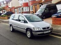Vauxhall Zafira 1.6, 7 SEATER, Long MOT, Service History, Low Miles, Cheap 4 Insurance, Reliable Car