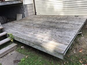Used deck / boards