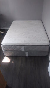 Mattress + Boxspring for sale