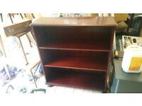 Mahogany book shelf