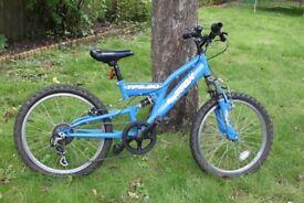 Trax TFS.20 Boys Mountain Bike - 20 inch wheels, 6 gears