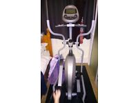 Vision fitness cross trainer with heartrate monitor