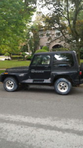 Parted out jeep yj