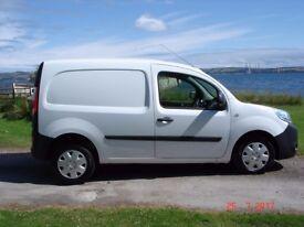 Renault Kangoo Van. 20700 miles, 2014. Excellent All Round, FSH, just serviced and MOT 'til April 18