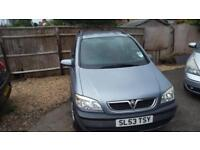 2004 Vauxhall Zafira 2.0DTi 16v fsh diesel 7 seater estate only two owners