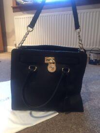 Black Michael Kors bag, perfect condition