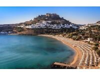 3 cheap flight tickets Leeds - Rhodes Island, 25 Aug- 1 Sep