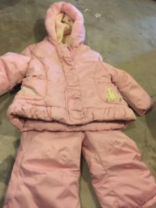 Snow suit 2t