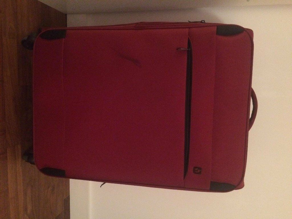 Large suitcase - used only once
